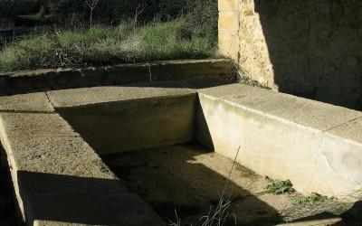 Lavoir dit le Sauzil, bassin
