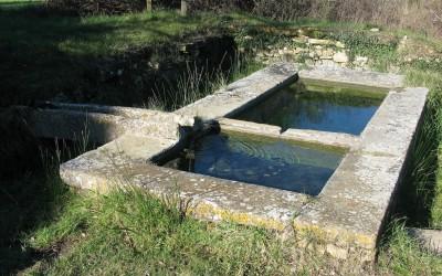 Lavoir du plan de Gattigues, le bassin