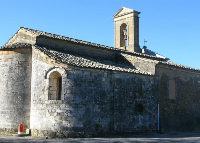 Notre-Dame de Gattigues. abside en cul-de-four
