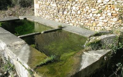 Lavoir de Fontvielle, le bassin