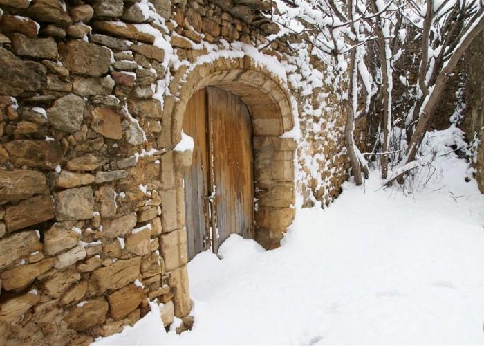 Neige à Gattigues