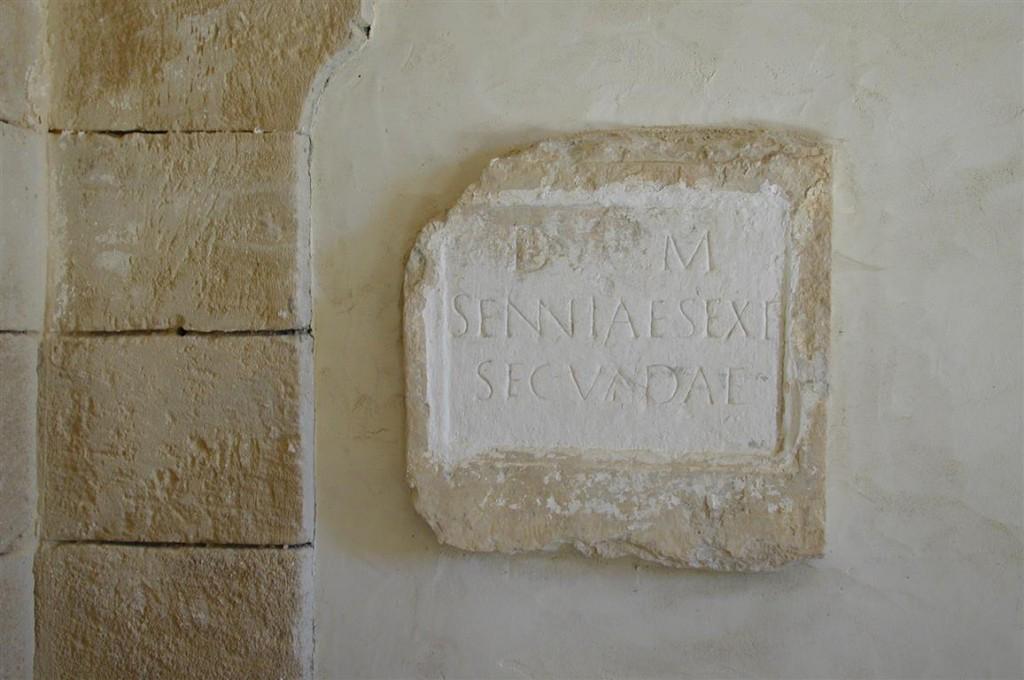 détail, église Notre-Dame-de-Gattigues