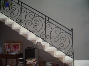 escalier sur mesure, création de l'Atelier Spido