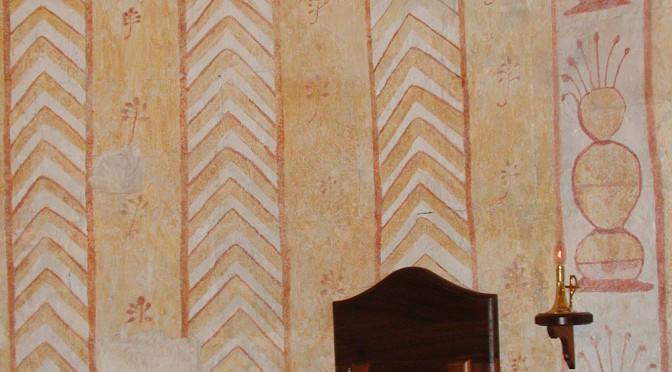 peintures murales, église Notre-Dame-de-Gattigues