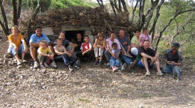 à la cabane des charbonniers en 2009