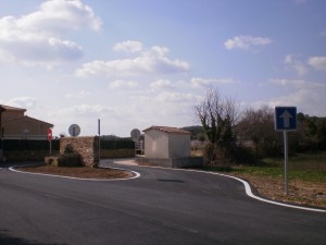 Accès Chemin de Lacré