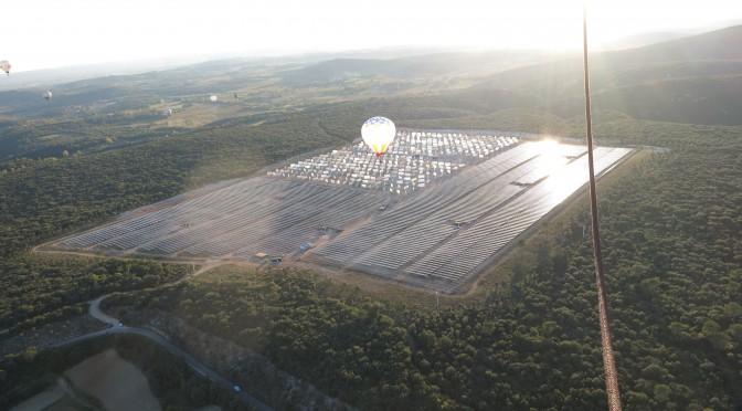 Mise en production du Parc Photovoltaïque d'Aigaliers