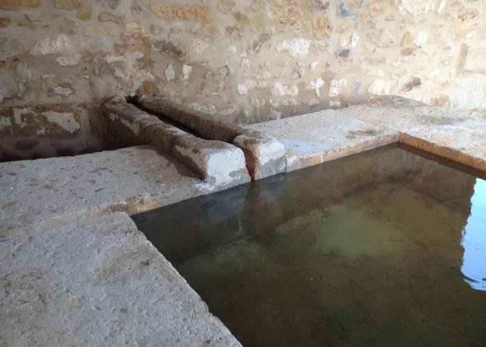 Le lavoir Le Sauzil restauré