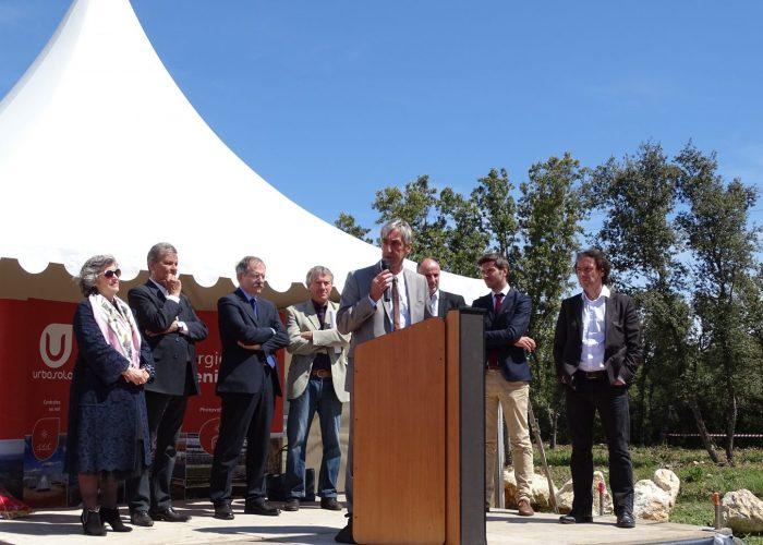 Inauguration du parc solaire