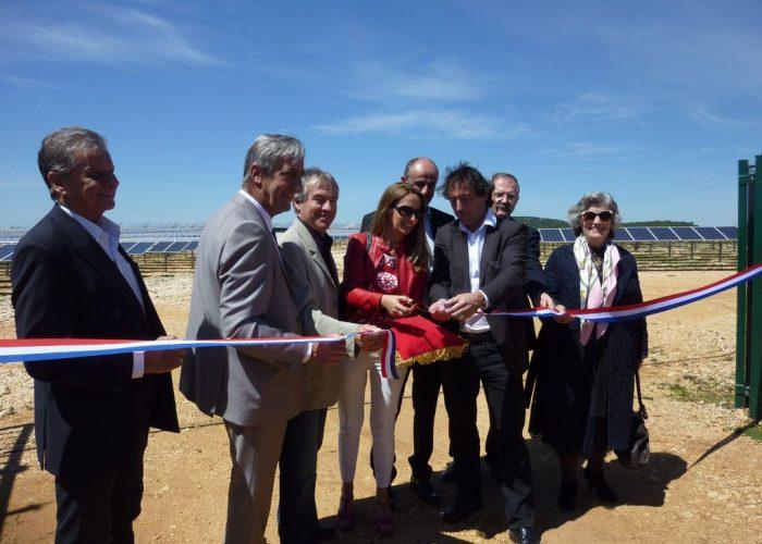 Inauguration du parc solaire 20 mai 2016