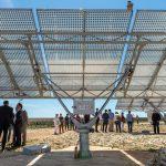 Le parc solaire d'Aigaliers mai 2016