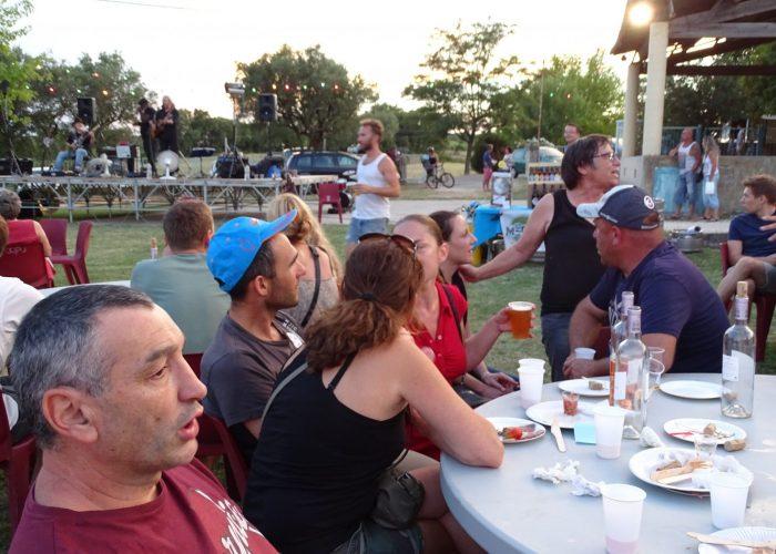 Marché nocturne à Aigaliers le 29 juillet 2016