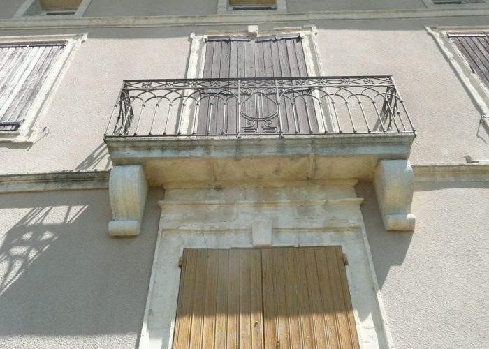 L'ancien presbytère Le balcon