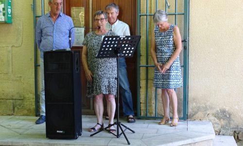 Discours de Frédérique Bonzi en charge de la Commission Logement