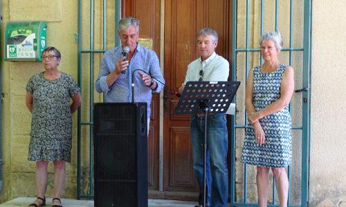 Discours du Président du Conseil départemental Denis Bouad