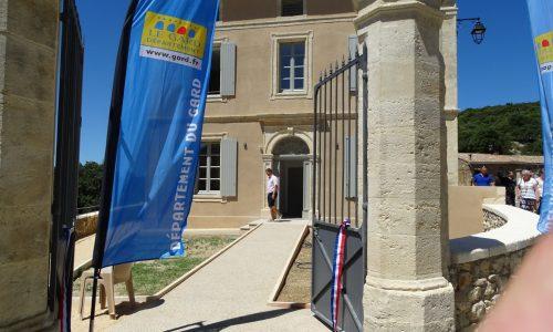 L'entrée de l'ancien presbytère
